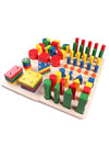 Wooden Montessori Shaping Matching Toy