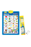 Interactive Alphabet and Number Wall Chart Toy