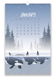 2021 WILDLIFE WALL CALENDAR