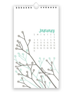 2021 BOTANICAL WALL CALENDAR