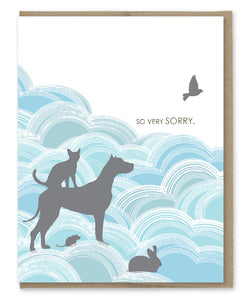 SO VERY SORRY PET SYMPATHY CARD