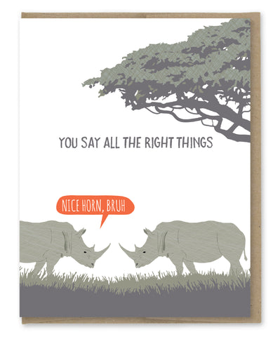 SAY THE RIGHT THINGS CARD
