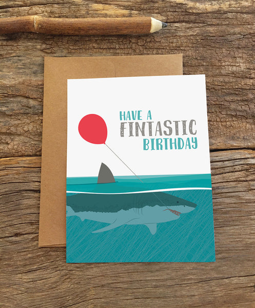 FINTASTIC BIRTHDAY CARD