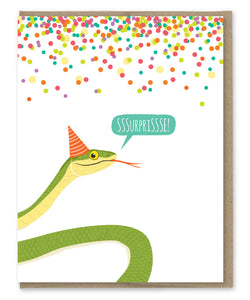 SSSURPRISSSE BIRTHDAY CARD