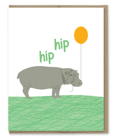 HIP HIP HOORAY CARD