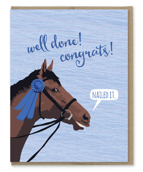 NAILED IT CONGRATS CARD