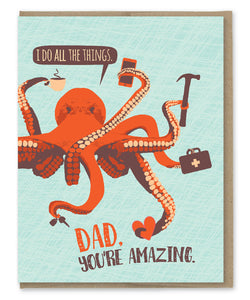 DAD ALL THE THINGS CARD