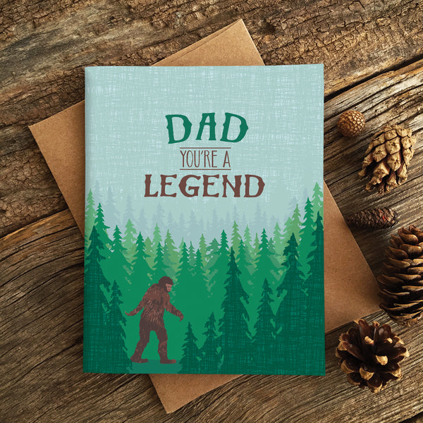 DAD LEGEND CARD