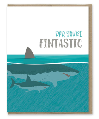 FINTASTIC DAD CARD