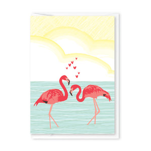 FLAMINGO LOVE ENCLOSURE