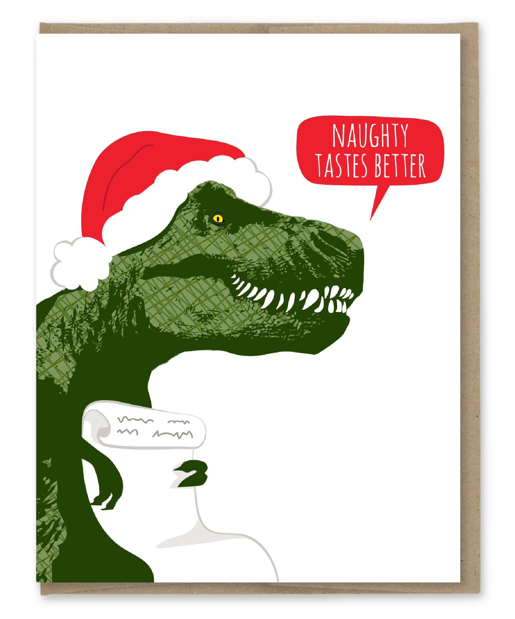 TREX SANTA HOLIDAY CARD