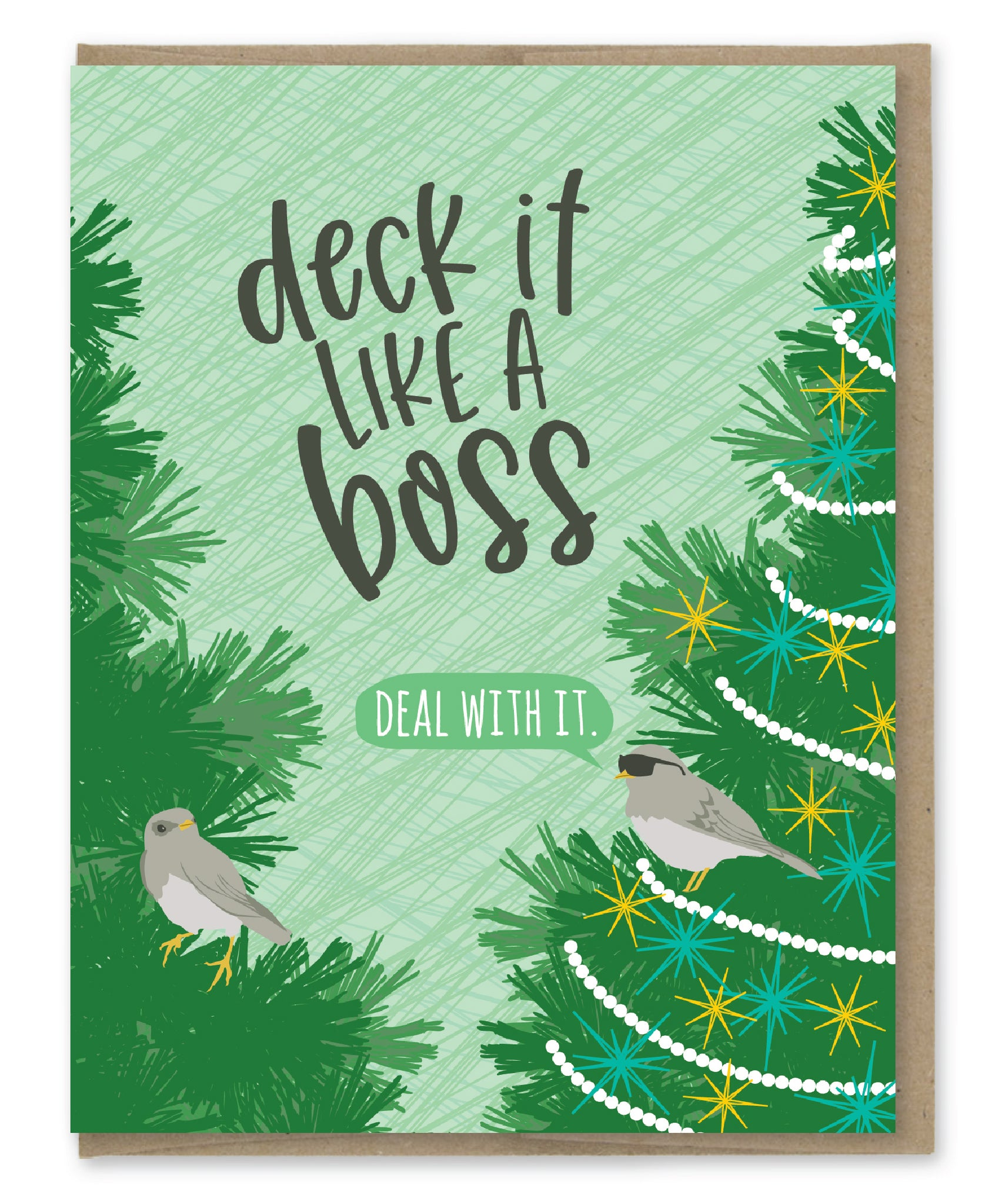 DECK IT HOLIDAY CARD