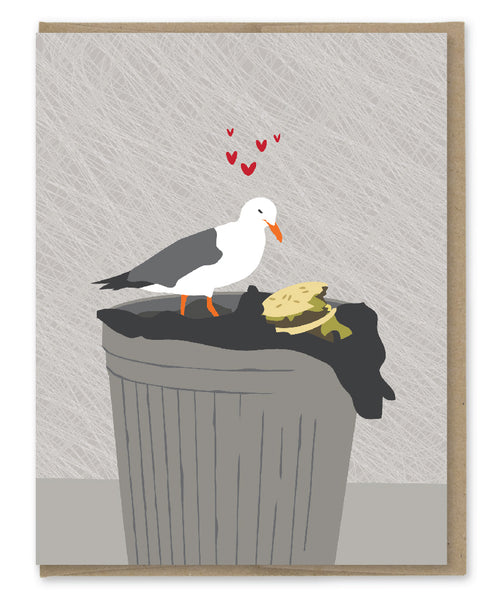 SEAGULL ALL I EVER WANTED LOVE CARD
