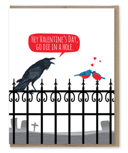 VALENTINE'S DAY DIE CARD
