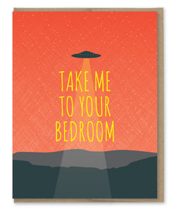 BEDROOM UFO CARD