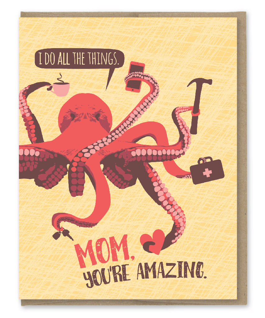 MOM ALL THE THINGS CARD
