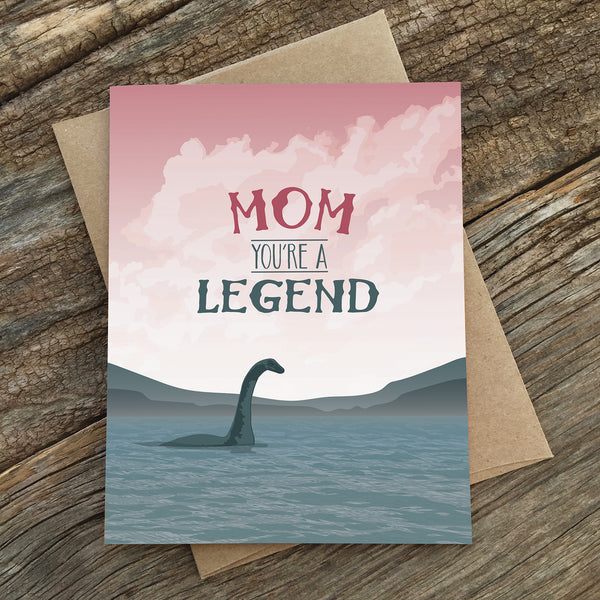 MOM LEGEND CARD