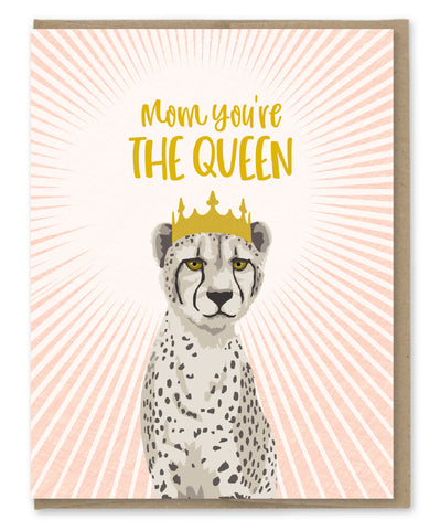 MOM THE QUEEN CARD