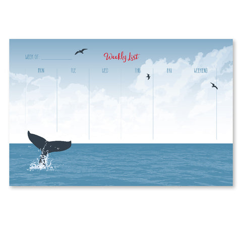 OCEAN WEEKLY NOTEPAD