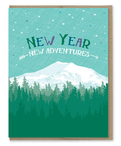 NEW YEAR NEW ADVENTURES CARD