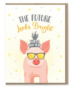 BRIGHT FUTURE NEW YEAR'S CARD