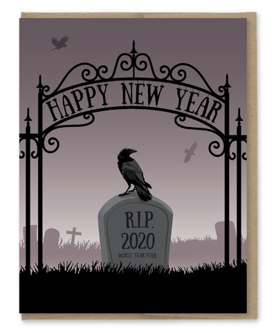 RIP 2020 NEW YEAR'S CARD