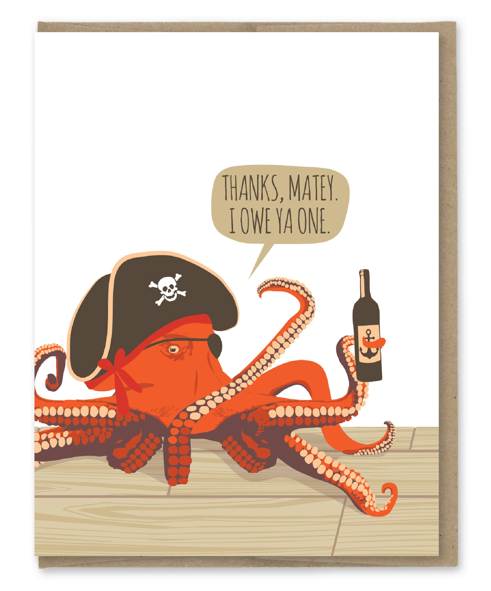 THANKS MATEY OCTOPUS CARD