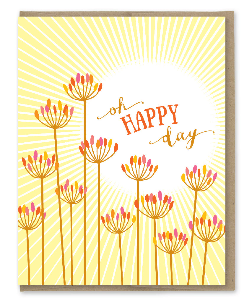 OH HAPPY DAY CARD