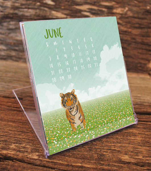 2020 WILDLIFE DESK CALENDAR