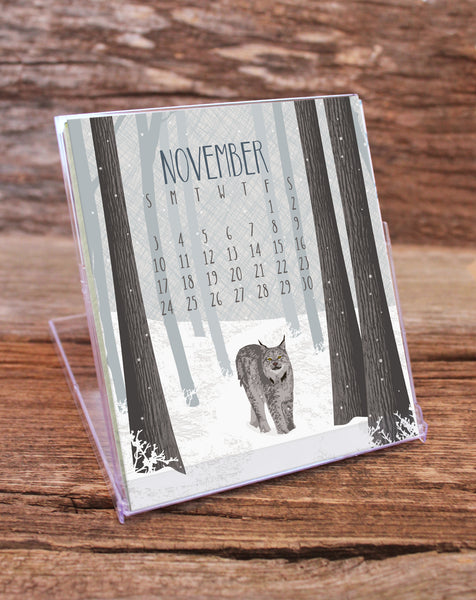 2019 WILDLIFE DESK CALENDAR