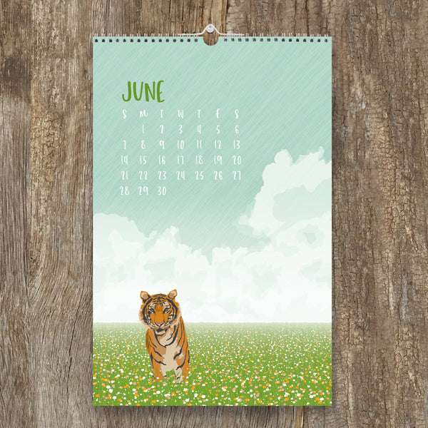 2020 WILDLIFE WALL CALENDAR