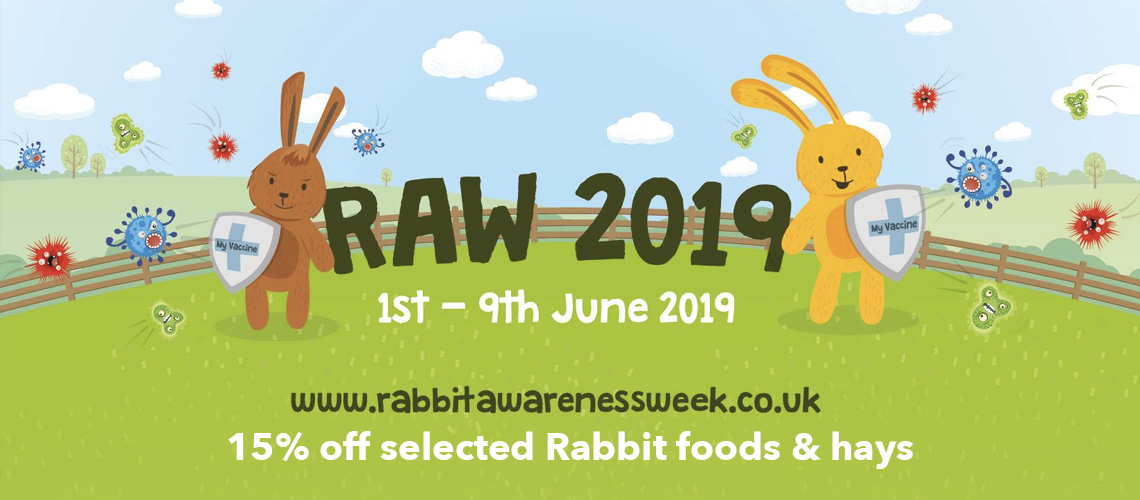 Rabbit Awareness Week (RAW) 2019 - 'Prevent and Protect