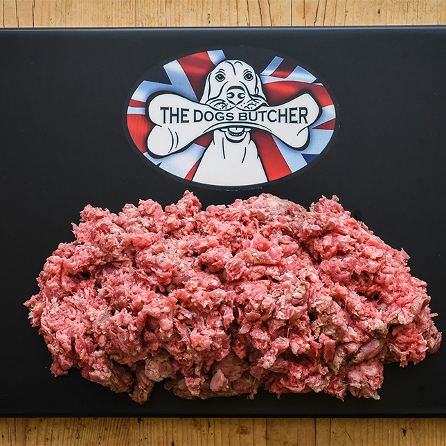 The Dogs Butcher Purely Turkey Mince - 80/10/10