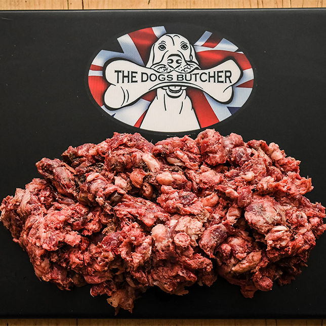 The Dogs Butcher Purely Goat Mince - 80/10/10