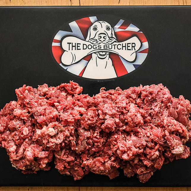 The Dogs Butcher Purely Pork Mince - 80/10/10