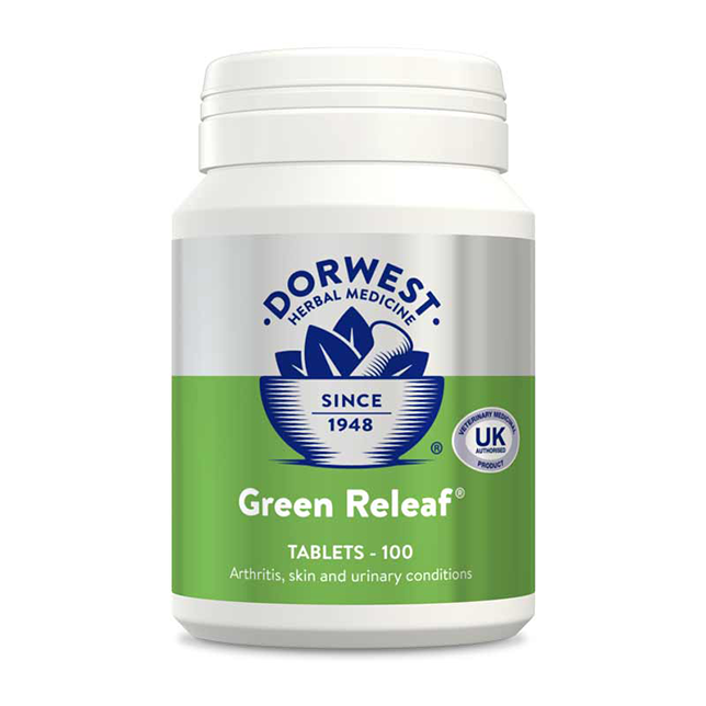 Dorwest Green Releaf Tablets For Dogs And Cats