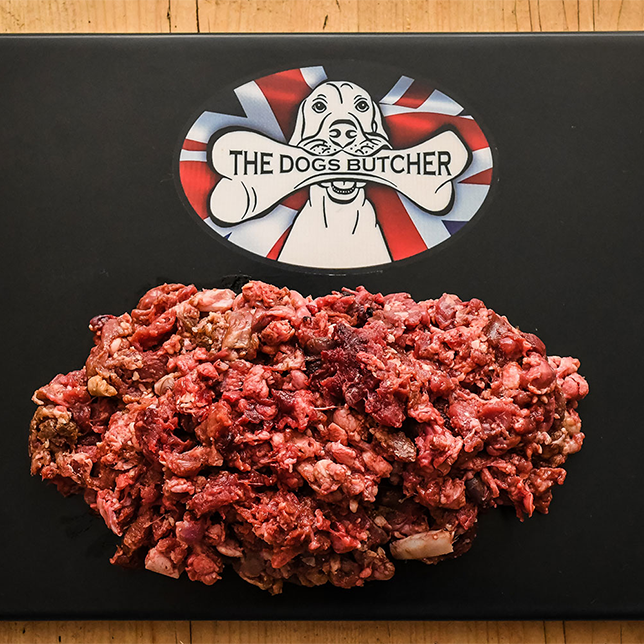 The Dogs Butcher Purely Venison Mince - 80/10/10