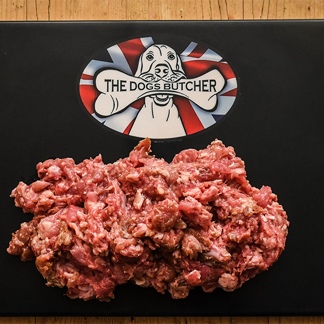 The Dogs Butcher Purely Chicken Mince - 80/10/10