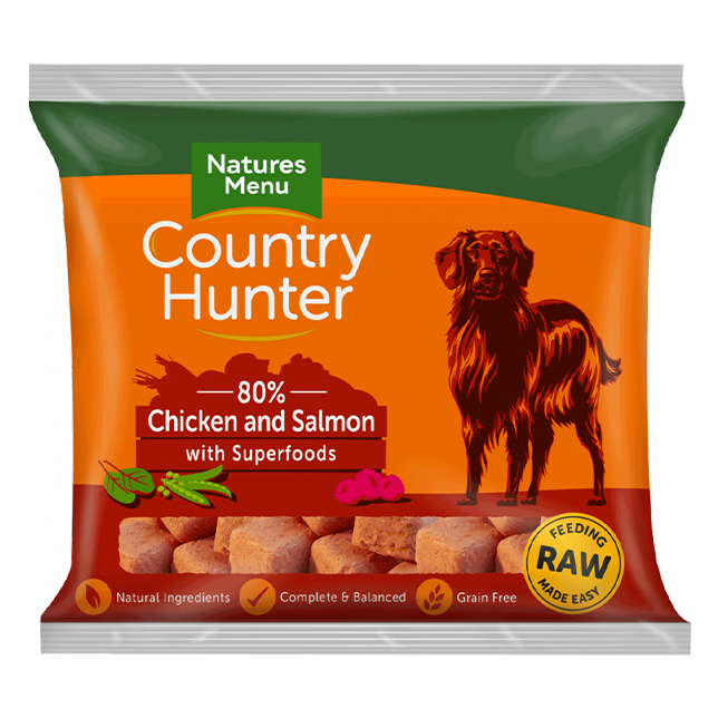 Country Hunter Raw Nuggets - Chicken & Salmon with Superfoods