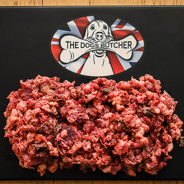 The Dogs Butcher Purely Ox Mince - 80/10/10