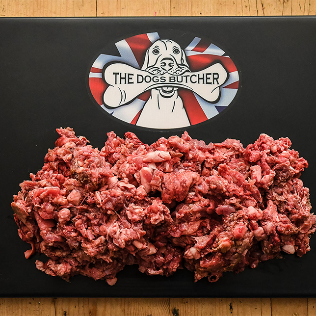 The Dogs Butcher Purely Lamb Mince - 80/10/10