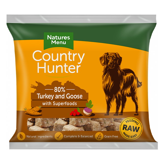 Country Hunter Raw Nuggets - Turkey & Goose with Superfoods