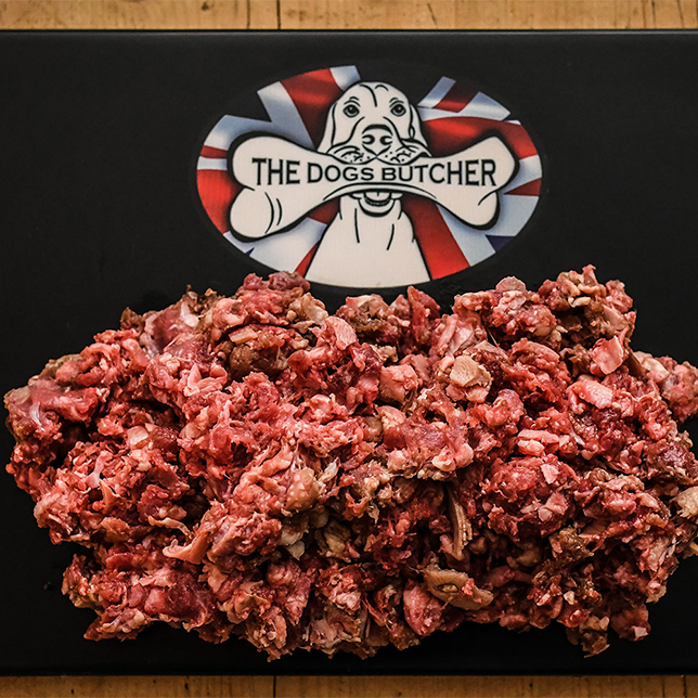The Dogs Butcher Mixed Meat with Turkey Mince - 80/10/10