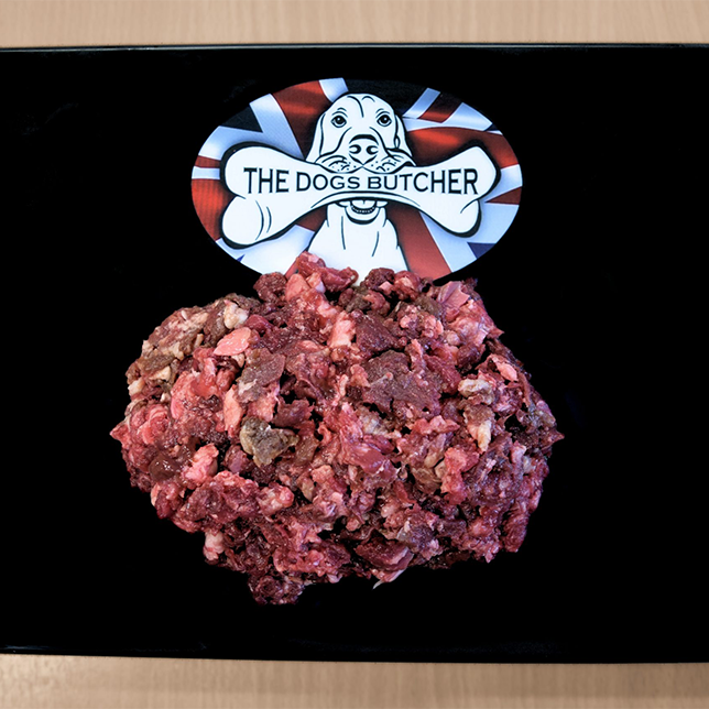 The Dogs Butcher Mixed Meat with Duck Mince - 80/10/10