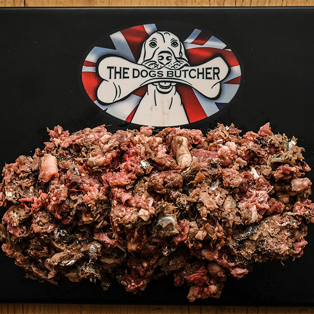 The Dogs Butcher Surf & Turf Mince - 80/10/10