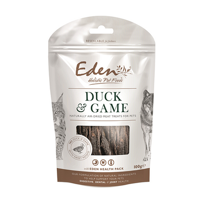 Eden Duck & Mixed Game Treats for Cats & Dogs
