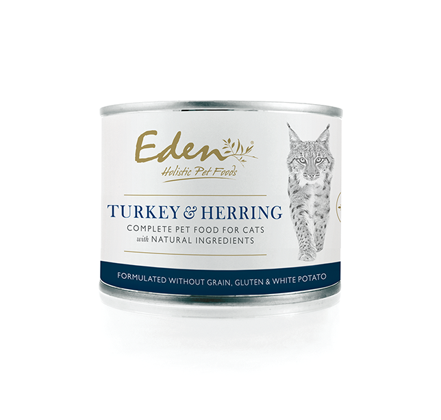 Eden Turkey & Herring Wet Food for Cats