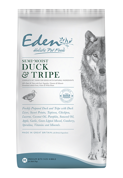 Eden Semi-Moist Duck & Tripe for Dogs