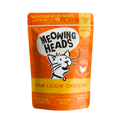 Meowing Heads Paw Lickin' Chicken - Wet Food