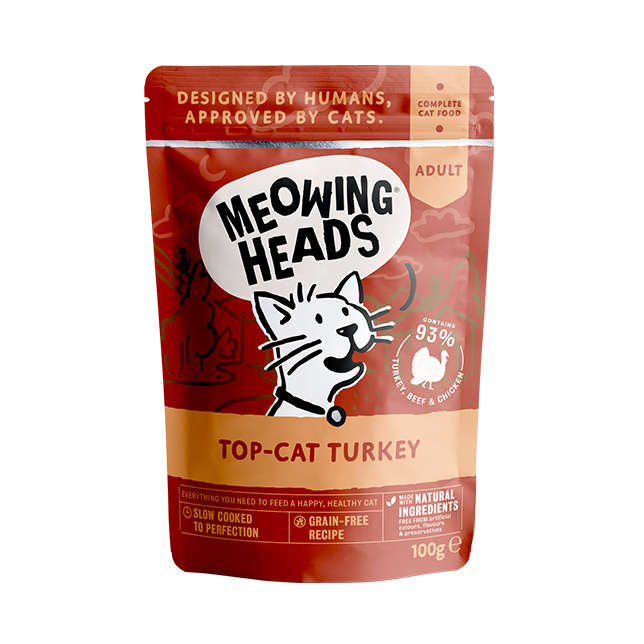 Meowing Heads Top-Cat Turkey - Wet Food